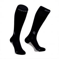 Zeropoint Hybrid Silver Kompressziós Zokni, fekete-szürke (Compression Hybrid Socks)
