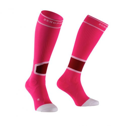 Zeropoint Intenzív 2.0 Kompressziós Zokni, pink (Intense Compression Socks)