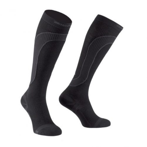 Zeropoint-Merinoi-Gyapju-Zokni-fekete-Merino-Wool-Compression-Sock-black