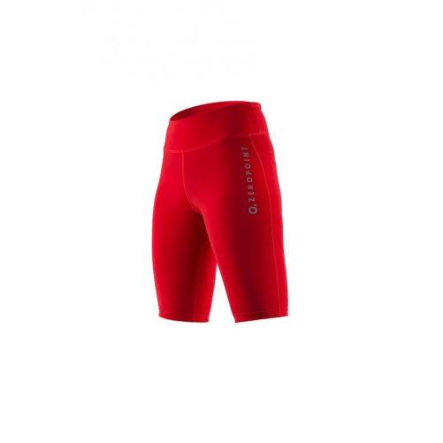 Zeropoint Power Női Kompressziós Rövidnadrág, piros (Power Compression Shorts Women)